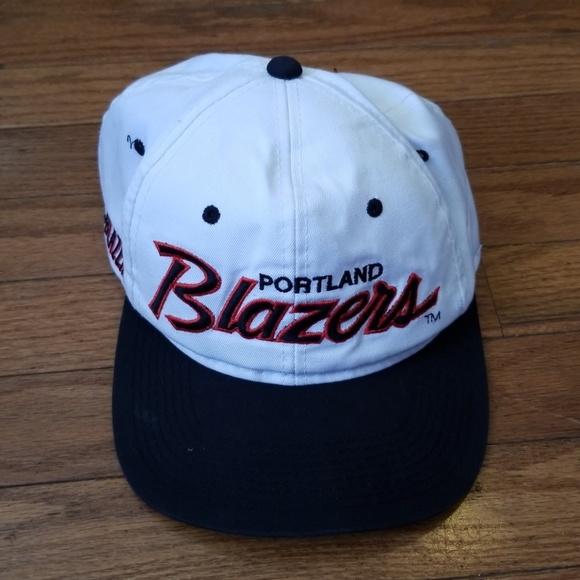 7e7acbedb17 Vintage Portland Trail Blazers Snapback Cap. M 5b48d190aa57198b9e9e7b8d